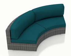 District Curved Loveseat HL-DIS-TS-CLS
