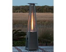 Elumiglow Flame Pyramid Patio Heater