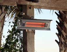 Enigma Wall-Mounted Infrared Patio Heater