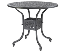 """Florence 48"""" Round Bar Table 10230L48"""