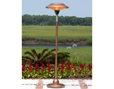 Gibson Halogen Patio Heater - Copper