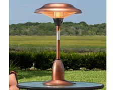 Gibson Halogen Tabletop Patio Heater - Copper