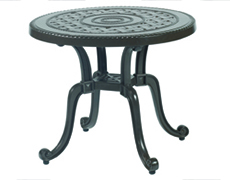 "Grand Terrace 26"" Round End Table 1034RE26"
