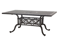 "Grand Terrace 42"" x 63"" Rectangular Dining Table 103400C1"