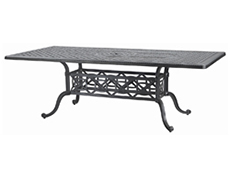 "Grand Terrace 42"" x 72"" Rectangular Dining Table 103400C2"