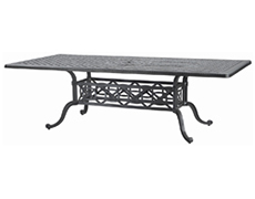 "Grand Terrace 42"" x 86"" Rectangular Dining Table 103400C3"