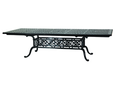 "Grand Terrace 44"" x 74""/114"" Rectangular Extension Dining Table 103400H1"
