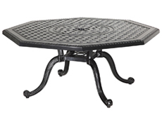 "Grand Terrace 45"" Octagon Chat Table 10348M45"