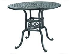 """Grand Terrace 48"""" Round Bar Table 10340L48"""