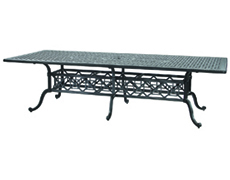 "Grand Terrace 48"" x 112"" Rectangular Dining Table 103400C4"