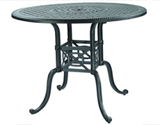 """Grand Terrace 54"""" Round Bar Table 10340L54"""