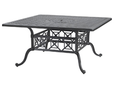 "Grand Terrace 60"" Square Dining Table 10340D60"