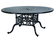 "Grand Terrace 66"" Round Dining Table 10340A66"