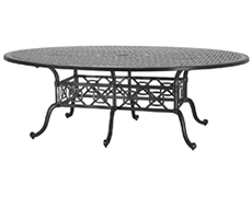 "Grand Terrace 72"" x 102"" Geo Dining Table 103400J2"