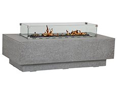 Gravelstone Rectangle Fire Table 6001-FT5828