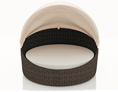 Wink Canopy Day Bed - Chestnut HL-WINK-CH-DB