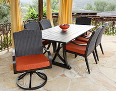 Indies 7 Pc. Dining Set