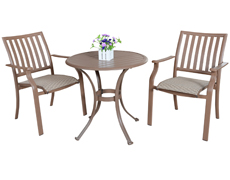 Island Breeze 3 Pc. Dining Bistro Group (PJO-1001-ESP-3PC/3SD)