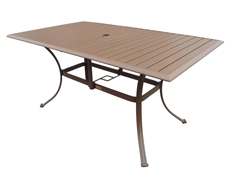 "Island Breeze 60x36"" Rectangular Dining Table (PJO-1001-ESP-RT)"