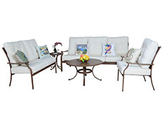 5 Pc. Island Breeze Sofa Set with Cushions (PJO-1001-ESP-5PCL)