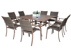 9 Pc. Island Cove Dining Set (PJO-8001-ESP-9PC)