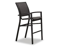 Kendall Wicker Bar Height Cafe Chair 9W9