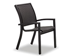 Kendall Wicker Cafe Chair 9W1