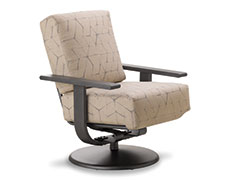 Larssen Deep Cushion Swivel Rocker 1L6