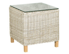 Lassiter Woven End Table FP-LAS-ET-AL-GL