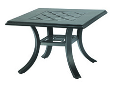 "Madrid II 24"" Square End Table 10430E24"