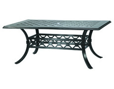 "Madrid II 42"" x 72"" Rectangular Dining Table 104300C2"