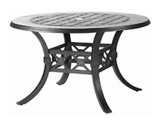 """Madrid II 54"""" Round Dining Table 10430A54"""