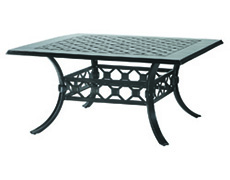 """Madrid II 60"""" Square Dining Table 10430D60"""