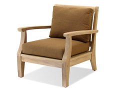 Miramar Plantation Teak Lounge Chair FP-MIR-C-TK-CO