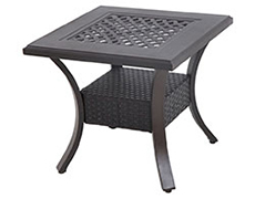 Somerset Mixed Material Cast End Table C142424-01-CRCN
