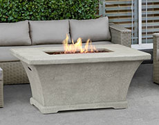 Monaco Rectangle Chat Height Fire Table 11700LP