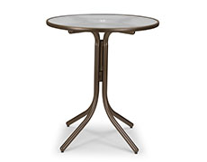 """Obscure 36"""" Round Bar Table 520ACR"""