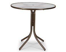 """Obscure 42"""" Round Bar Table 539"""