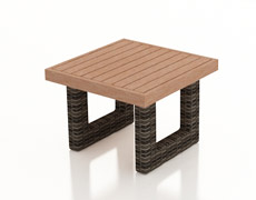 Pavilion End Table with Durawood Top FP-PAV-ETDW-SW