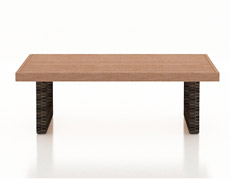 Pavilion Coffee Table with Durawood Top FP-PAV-CTDW-SW