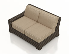Pavilion Sectional Left Arm Facing Loveseat FP-PAV-LAFL-SW
