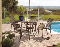 5 Pc. Island Breeze Dining Set (PJO-1001-ESP-5PC/5SD)