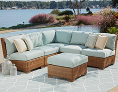 6 Pc. St. Barths Sectional Set (PJO-3001-BRN-6SEC)