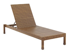 St. Barths Stackable Chaise Lounge PJO-3001-BRN-CL