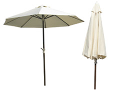9 Ft. Island Breeze Crank Lift Umbrella (PJO-6001-ESP-UM)