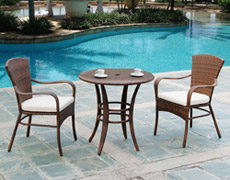 3 Pc. Key Biscayne Bistro Set (PJO-7001-ATQ-3PC)