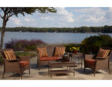 5 Pc. Key Biscayne Sofa Set (PJO-7001-ATQ-5PCS)
