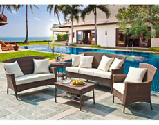 5 Pc. Key Biscayne Sofa Set (PJO-7001-ATQ-5PLS)