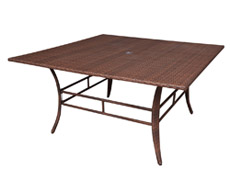 "Key Biscayne 60"" Square Dining Table (PJO-7001-ATQ-60)"