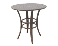 "Key Biscayne 30"" Round Bistro Table (PJO-7001-ATQ-BT)"